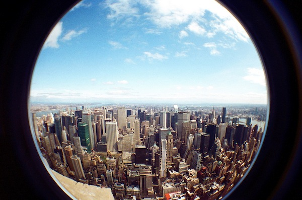 Fisheye View From Empire State