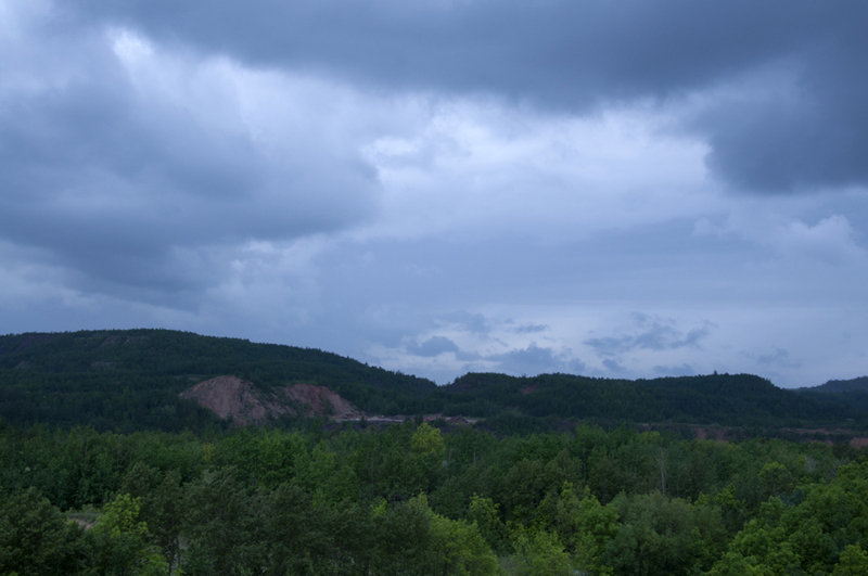 View of the Hull Rust Mine