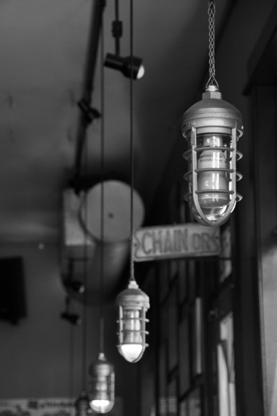 Lights at Bob's Java Hut