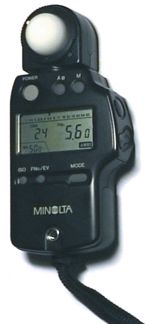 External Digital Light Meter
