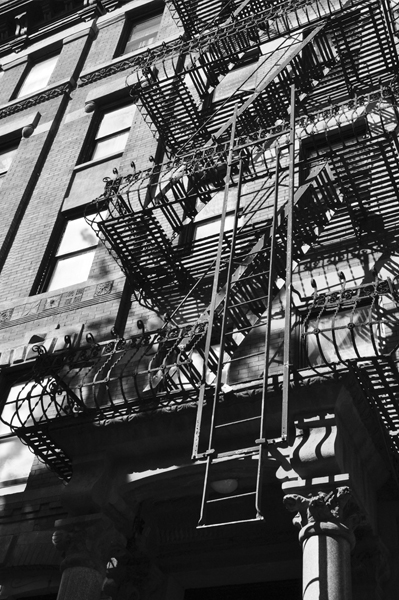 Fire Escape in New York City