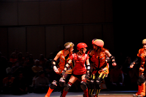 Rollergirls in Focus