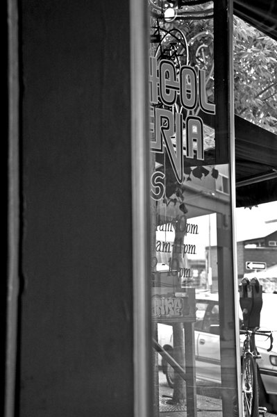 Typography On Window
