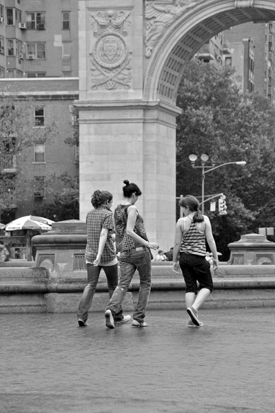 Women in Washington Square Park
