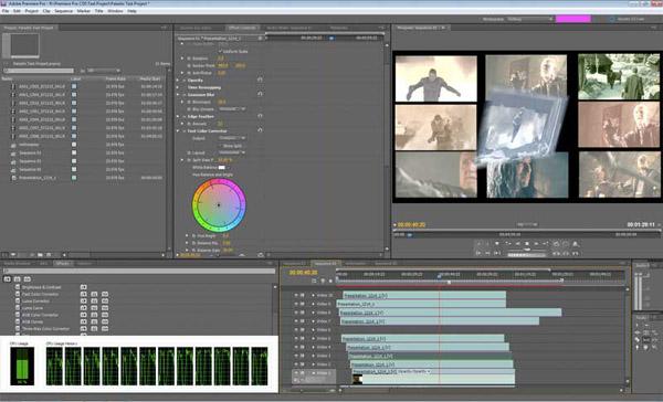 Adobe Premiere Old Film Effect Download