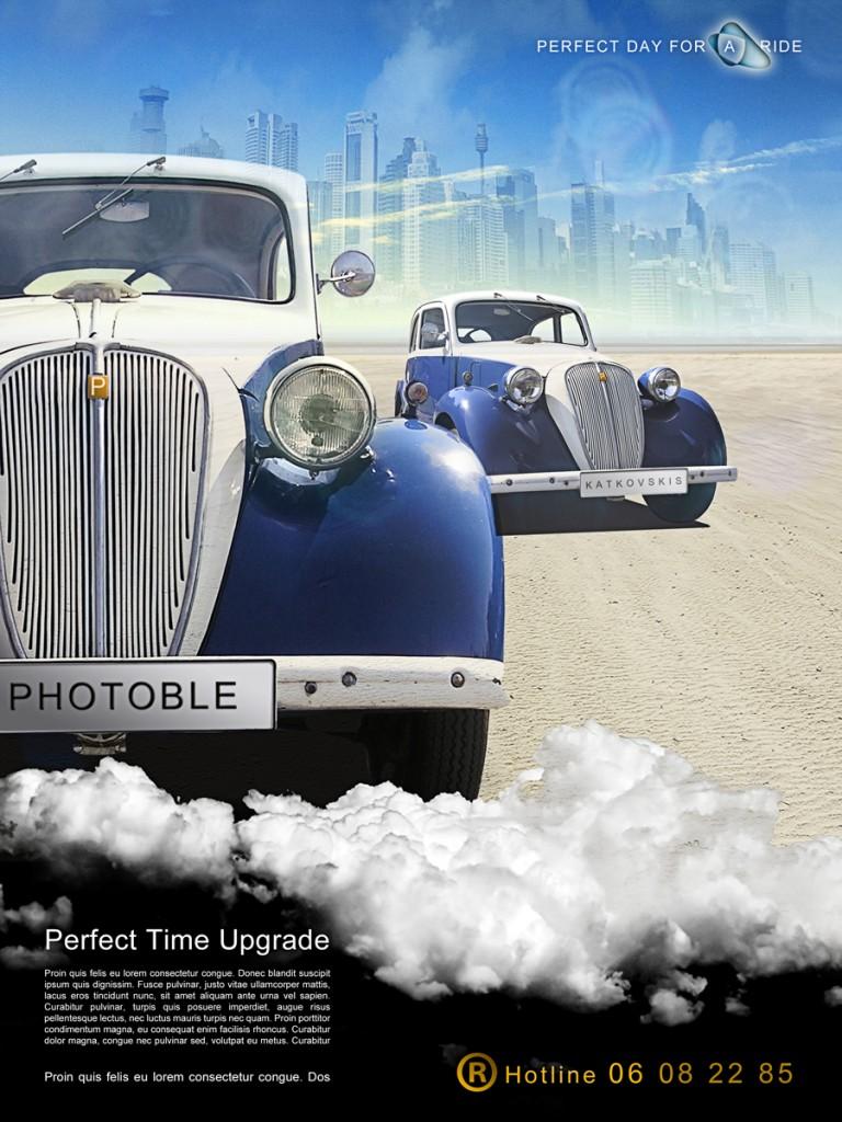 Magazine car advertisement photoshop tutorial baditri Image collections