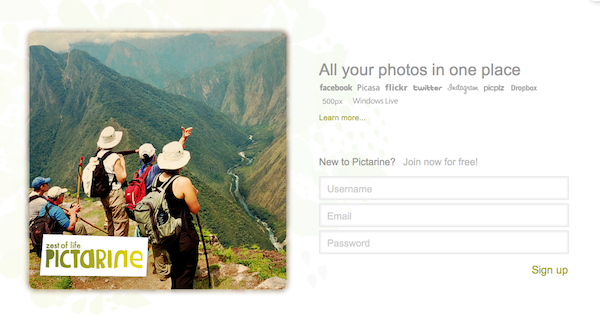 Post image for Startup Pictarine.com Is The Ultimate Photo Aggregator, Sharing Site