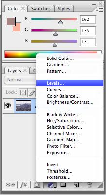 Create new level layer
