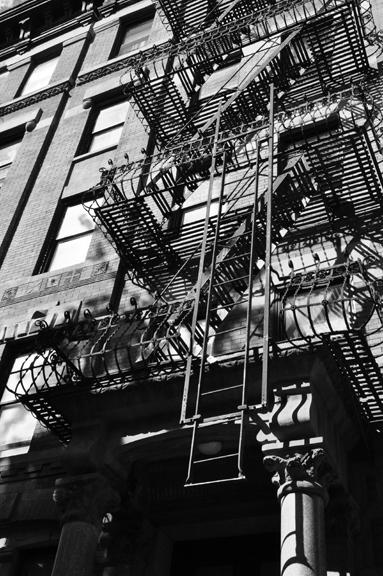 Fire Escape, Greenwich Village