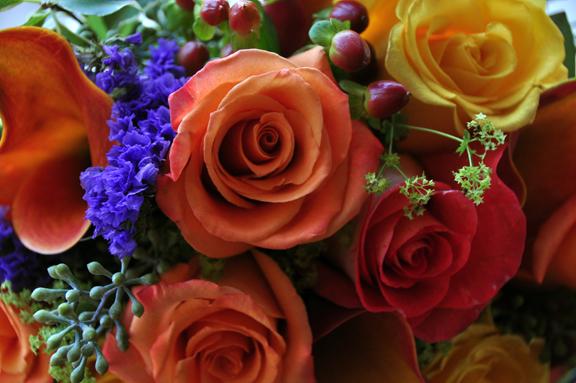 Jennifer's Wedding Flowers