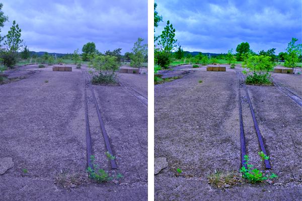 Foundation Comparison Shot