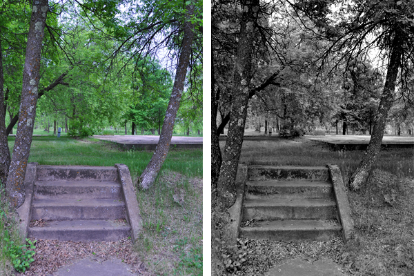 Stairs Comparison Shot