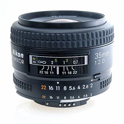 Nikkor 35mm f/2 AF-D lens