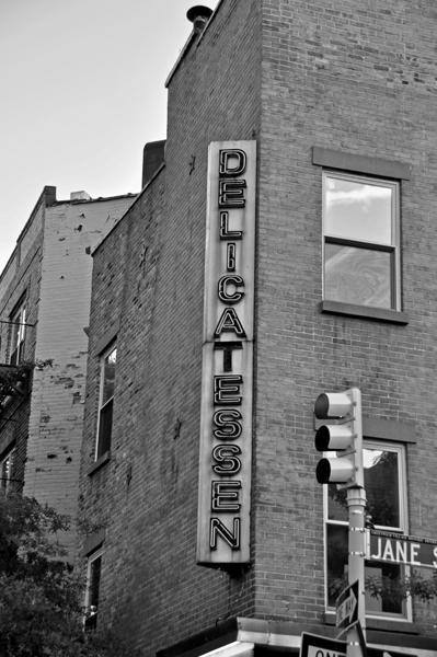 Delicatessen Sign