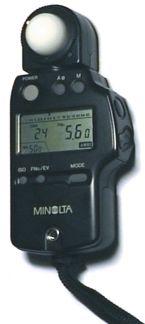 External Digital Light Meter