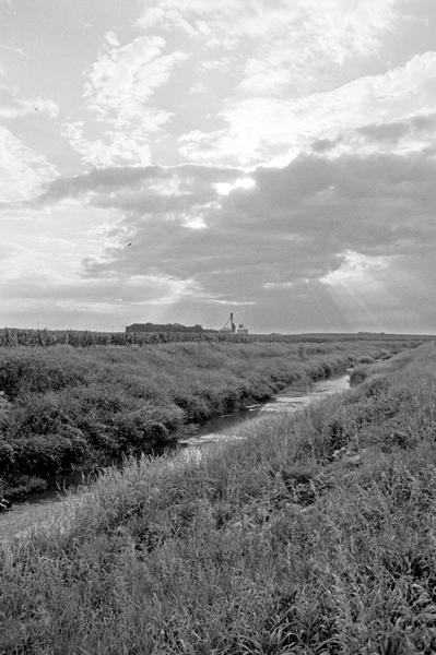 River in Farmland